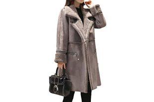 Women's Shearling Coats: Amazon.c