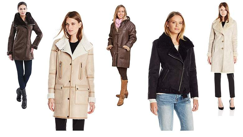 9 Best Shearling Coats for Women: The Ultimate List | Heavy.c