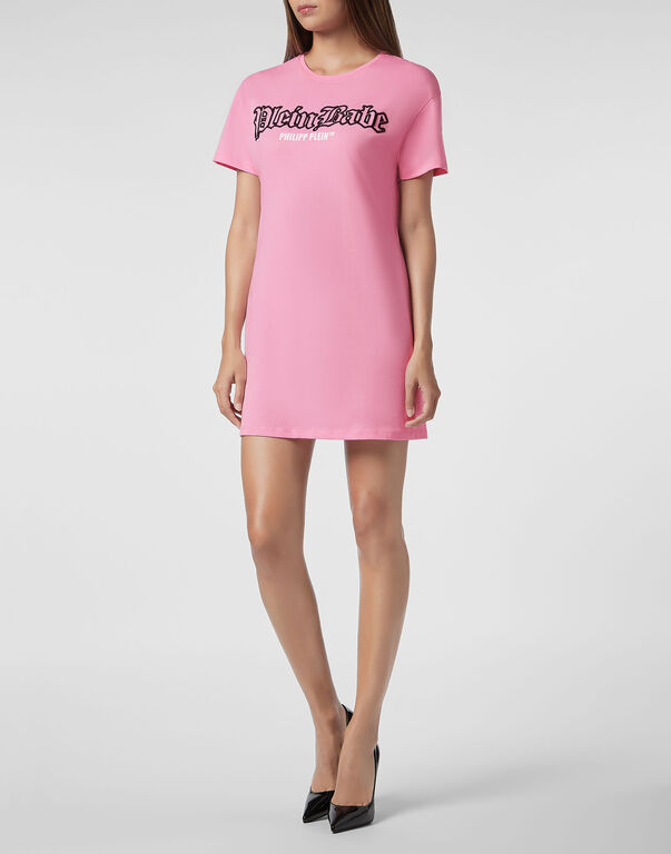 T-Shirt Short Dresses Pink paradise | Philipp Ple