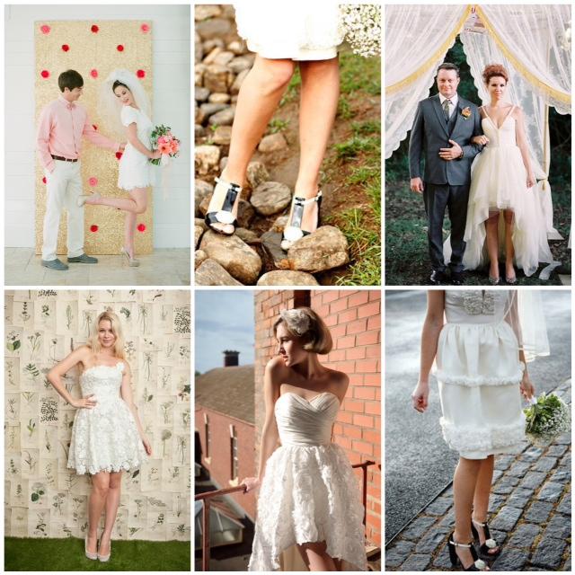 Lake Tahoe Wedding Inspiration | Short Wedding Dresses | Lake Tah