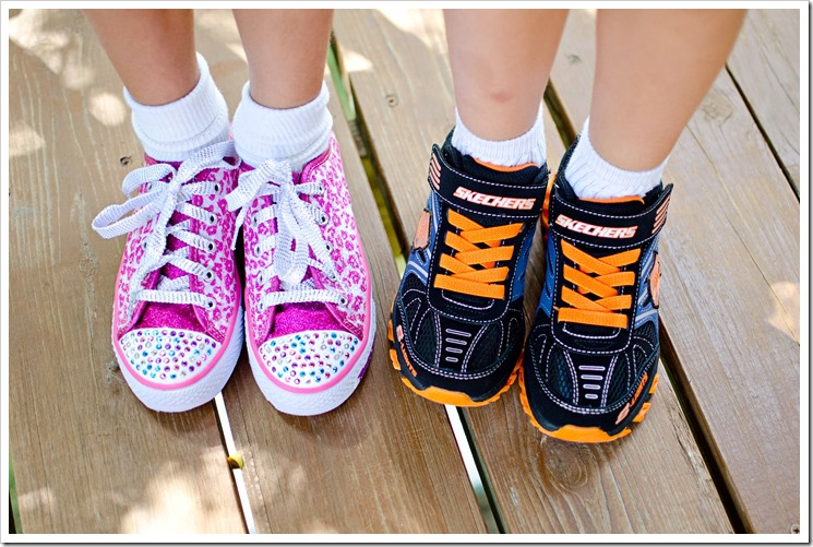 Back to School | Twinkle Toes and S Lights Skechers Kids Sho
