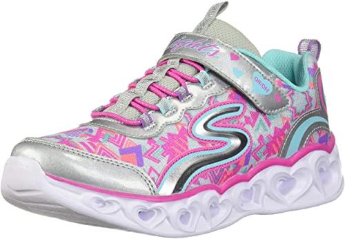 Amazon.com | Skechers Kids' Heart Lights Sneaker | Sneake