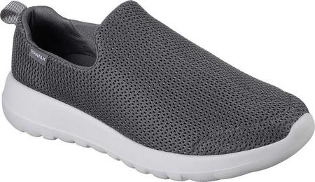 Mens Skechers GOwalk Max Slip-On Walking Shoe - Charcoal - FREE .