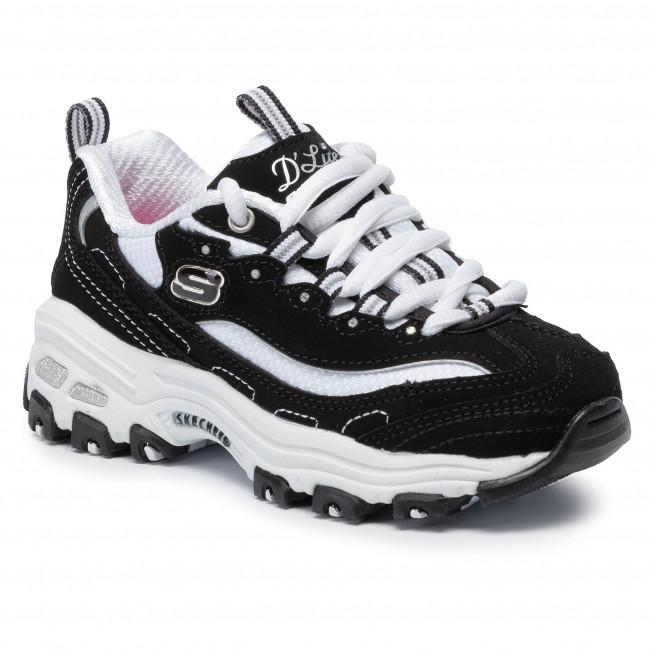 Sneakers SKECHERS - D'lites Biggest Fan 80587L/BKW Black/White .