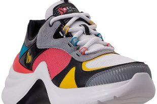 Skechers Women's Solei St. - Groovy Casual Sneakers from Finish .
