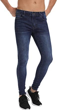 Men's Skinny Jeans, Stretch Slim Jeans for Men Super Skinny Fit .