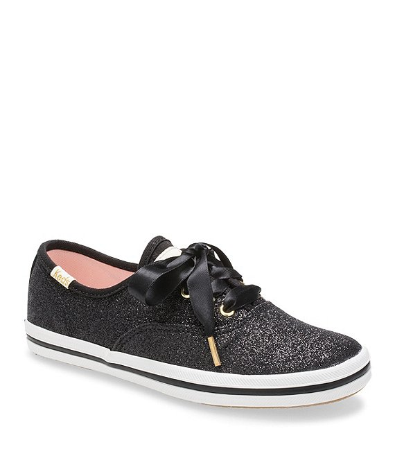 Keds for kate spade new york Girls' Glitter Sneakers (Youth .