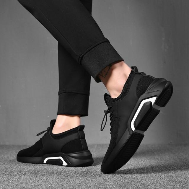 2018 Men Vulcanize Casual Sneakers Fashion Shoes Man Lace Up Mesh .