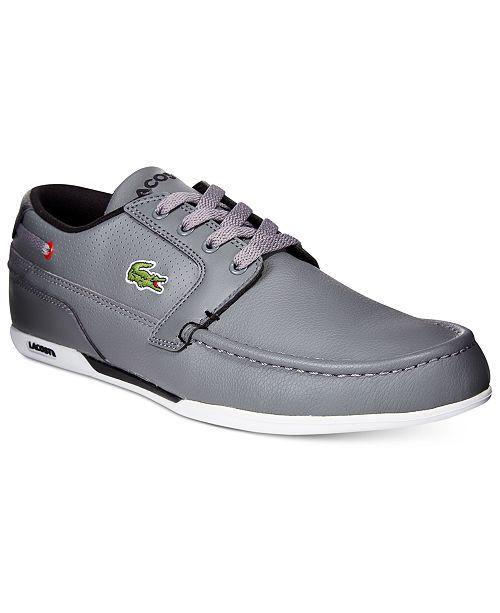 Lacoste Men's Dreyfus Sneakers & Reviews - All Men's Shoes - Men .
