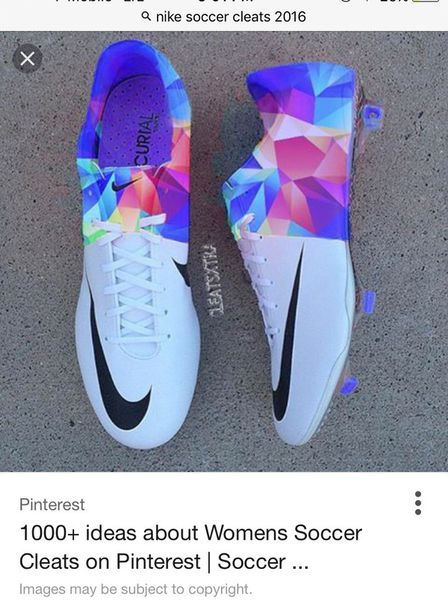 shoes, blue, white, soccer cleats, nike cleats, blue and purple .