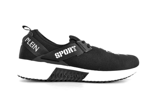 "Philipp Plein sport shoes man sneakers runner ""challenger"" black ."