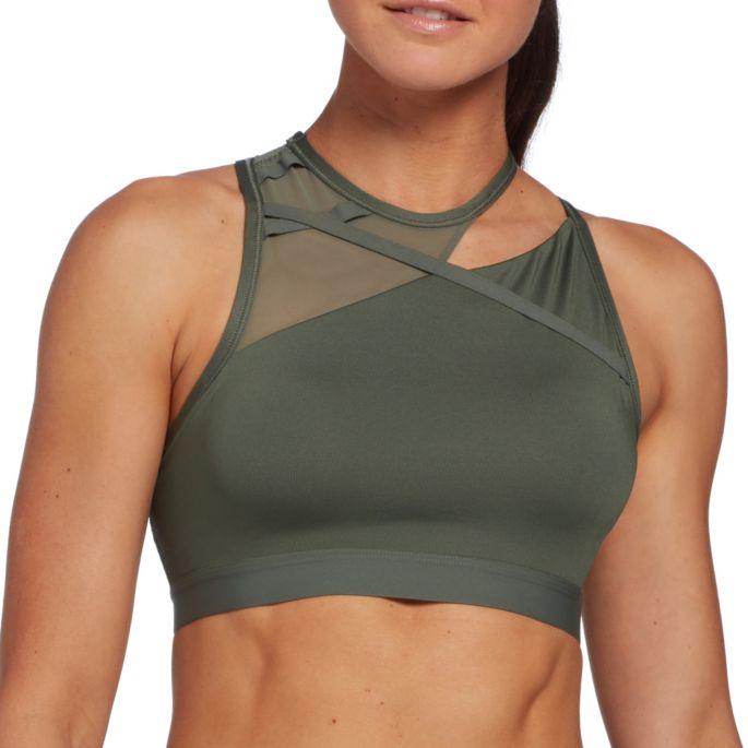 Nike Women's Rebel Slash Medium Support Sports Bra | DICK'S .