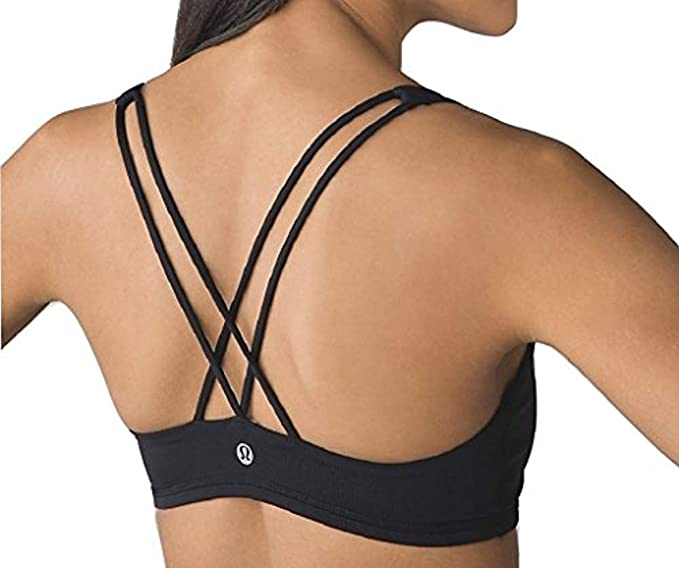Amazon.com: Lululemon Free to Be Bra Strappy Sports Bra: Clothi