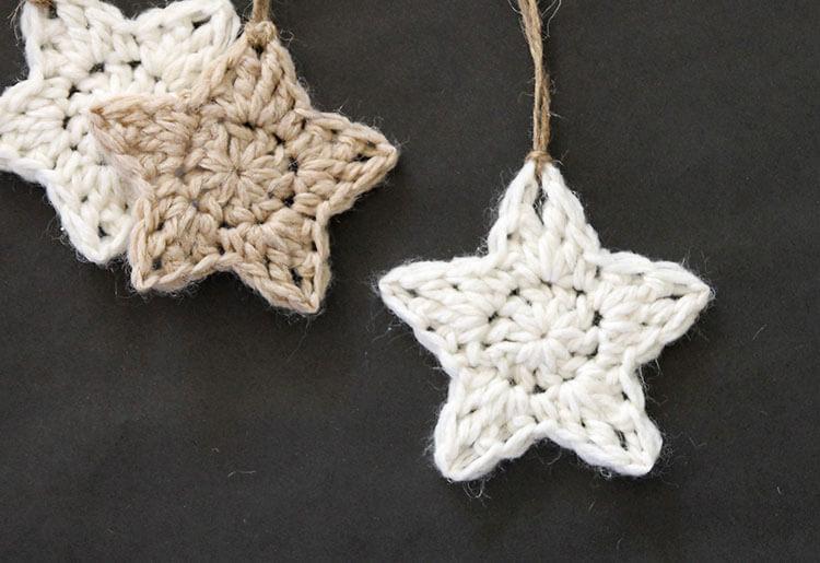 Crochet Stars - Free Ornament Pattern - Persia L