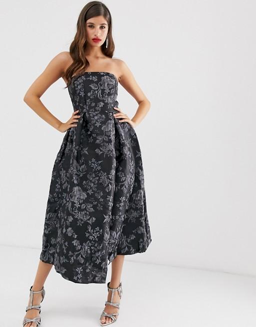 Closet strapless dress | AS