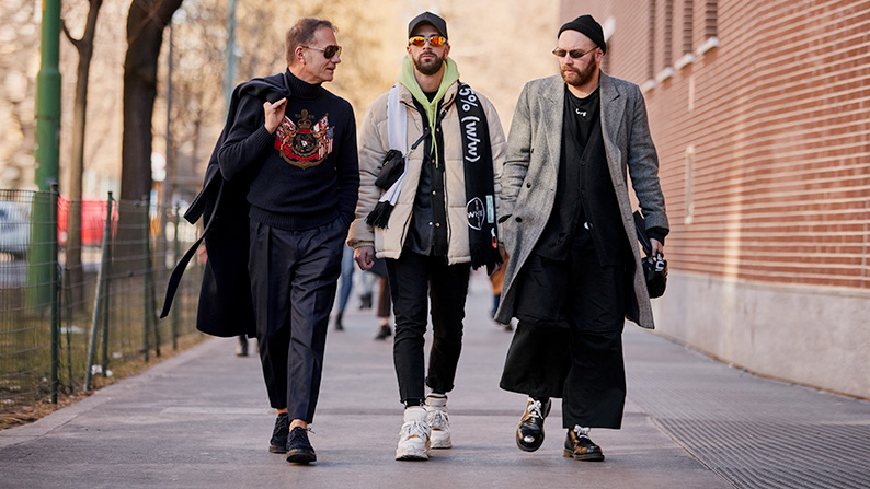 The Best Street Style From Milan Fashion Week Men's A/W 20