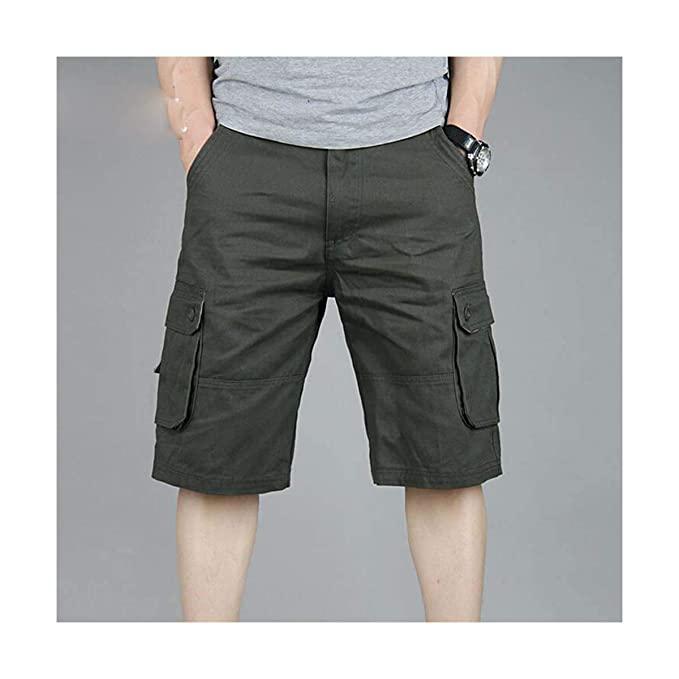 Amazon.com: ELLIE DODD Shorts Men Summer Casual Pocket Cargo .