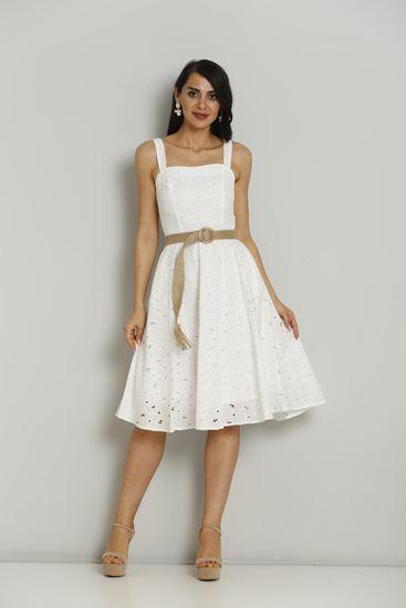 FAVORI Knee Lenght Sleevless Casual Summer Dresses|Fimkastore.com .