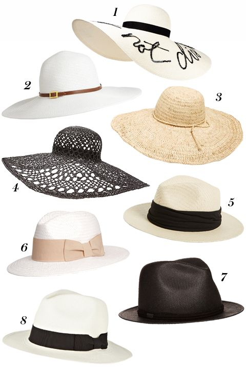 Consider This Your One-Stop-Shop for All of Summer's Chicest Hats .