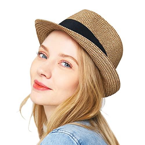 Summer Fedora Hat: Amazon.c