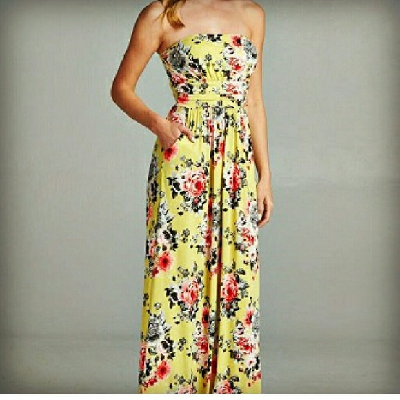 Vanilla Bay Dresses | Sale The Aurora Co Floral Summer Maxi Dress .