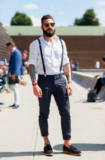 Thin or wide suspenders? How to choose the right width - JJ Suspende