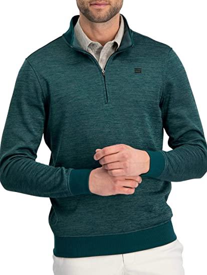 Amazon.com: Dry Fit Pullover Sweaters for Men - Quarter Zip Fleece .