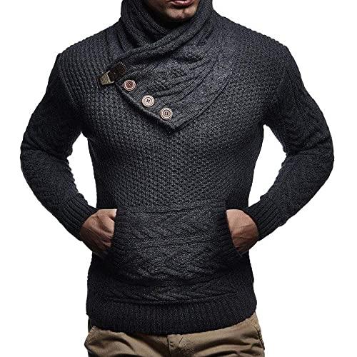 Mens Cowl Neck Sweaters: Amazon.c