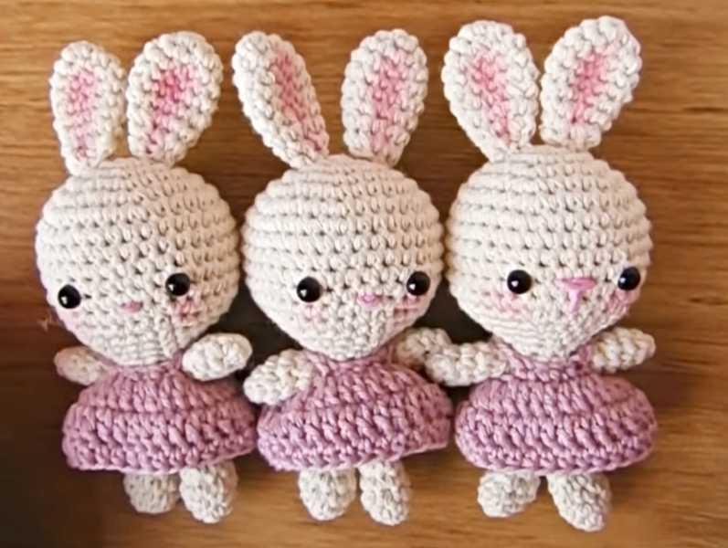 Sweet Crochet Bunny Pattern