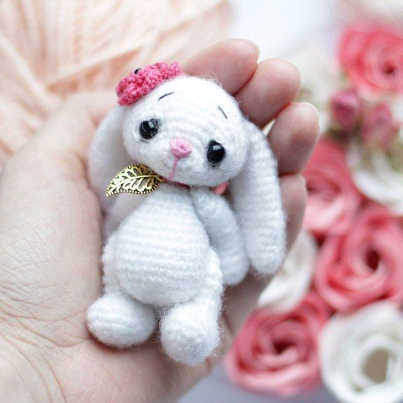 Crochet bunny amigurumi pattern | Crochet bunny pattern, Crochet .