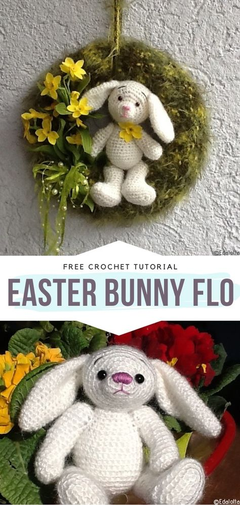 Sweet Crochet Bunnies Free Patterns | Crochet bunny, Crochet .