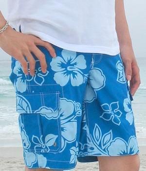 Floral Swim Trunks - Men's Fashion For Le