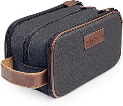 Amazon.com: Travel Toiletry Bag - Dopp Kit for Men - Cosmetic .