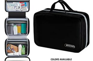 Amazon.com : Hanging Travel Toiletry Bag for Men and Women .