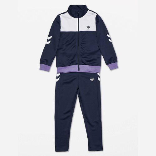 hummel Hmlspin Track Suit - Black Iris/aster Purple | hummel.n