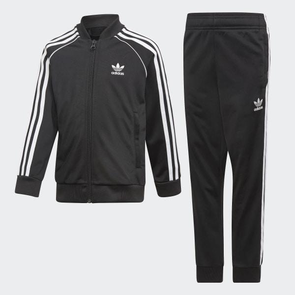 adidas SST Track Suit - Black | adidas