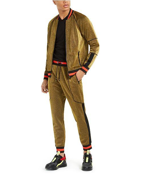 INC International Concepts INC Striped-Trim Track Suit, Created .