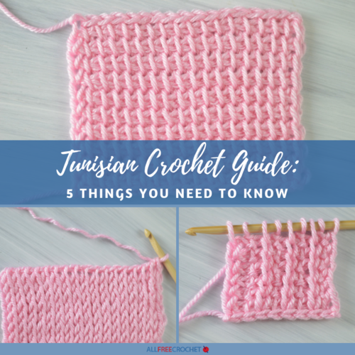 Tunisian Crochet Guide: 5 Things You Need To Know | AllFreeCrochet.c