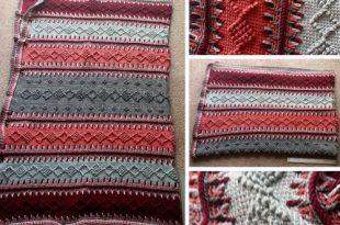 Timeless Tunisian - Free Pattern (Crochet For Children)   Tunisian .