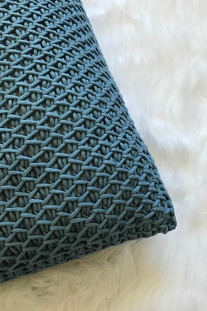 Ravelry: Cottage Throw Pillow - Tunisian Crochet pattern by Toni .