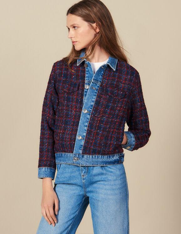 Tweed jacket - Coats & Jackets   Sandro Par