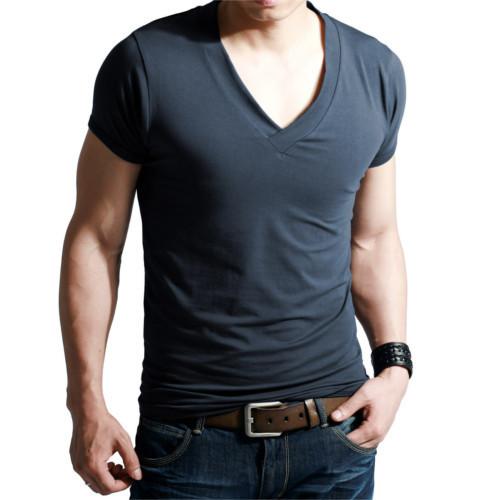 Boys V Neck T Shirt at Rs 120 /piece | Men V-neck T-shirts | ID .