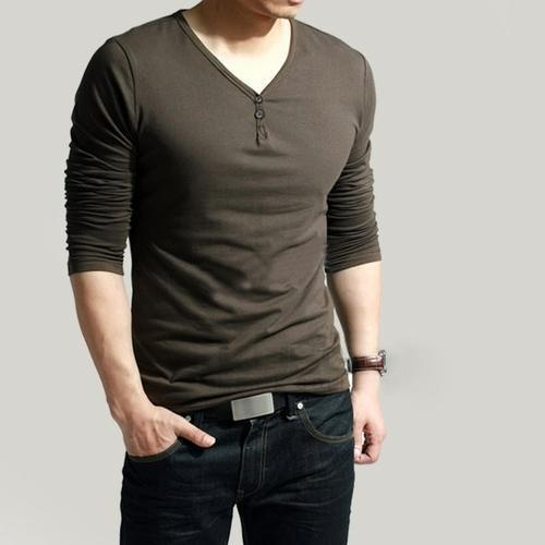 Cotton Plain V-Neck Boys T-Shirt, Rs 250 /piece, Chris Merchant .