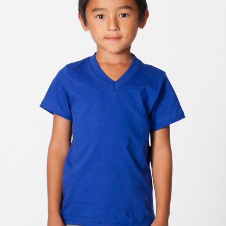 American Apparel Kids Fine Jersey V-Neck T-Shirt - Evan Webster I