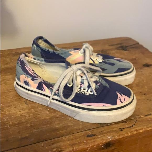 Vans Shoes | Floral Kids Sz 105 | Poshma