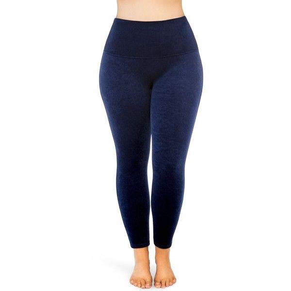 Plus Size Women's Spanx Velvet Leggings ($102) ❤ liked on .
