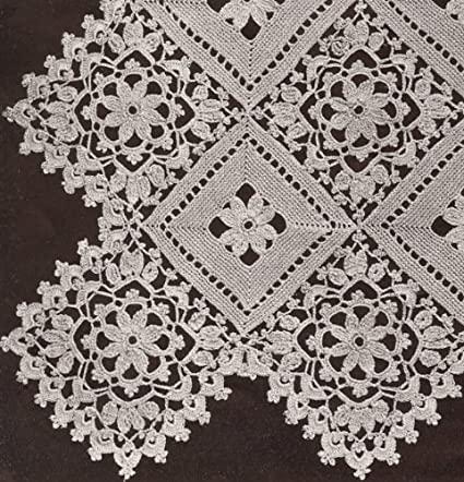 Amazon.com: Vintage Crochet PATTERN to make - Block Lace Motif .