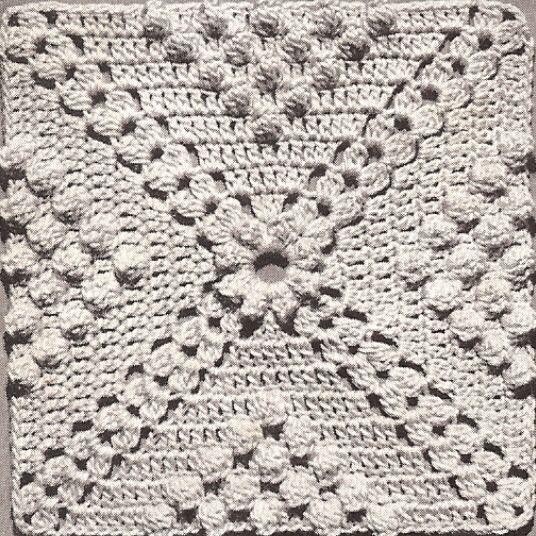 Details about Vintage Crochet PATTERN to make Popcorn & Cluster .
