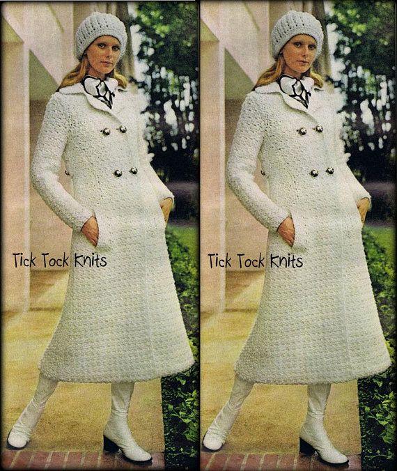 Boho Crochet Patterns No.667 1970's Vintage Crochet Pattern PDF .