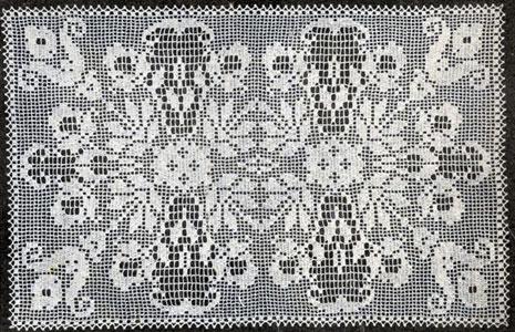 Filet Centerpiece Pattern #7 | Crochet Patter